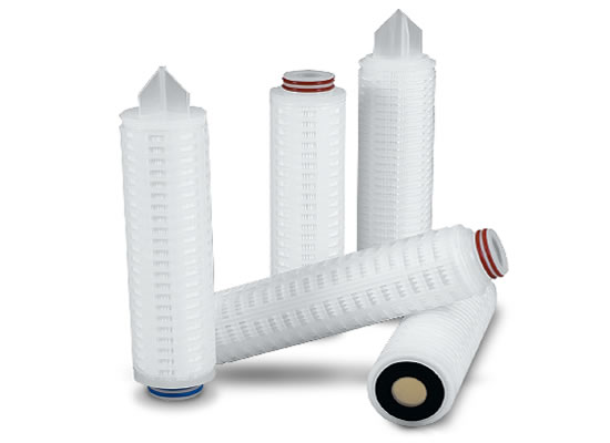 Folding filter cartridge